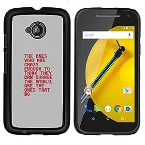 Caucho caso de Shell duro de la cubierta de accesorios de protección BY RAYDREAMMM - Motorola Moto E2 E2nd Gen - die tun