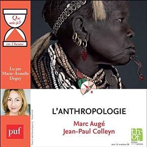 L'anthropologie en 1 heure | Livre audio