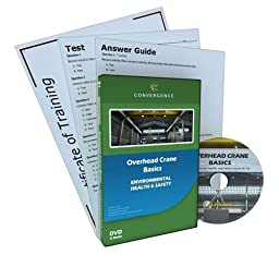 Convergence C-432-ES-US Overhead Crane Basics Training Program DVD, 20 minutes Time, Spanish