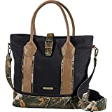 Legendary Whitetails Women's Weekend Adventure Camo Travel Tote Bag Black Review