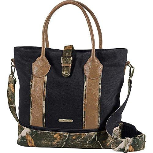 Legendary Whitetails Women's Weekend Adventure Camo Travel Tote Bag Black