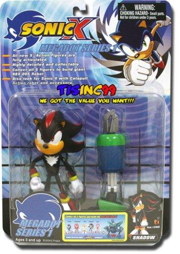 Amazon com: Sonic X figure Megabot Series 1 Action Figure