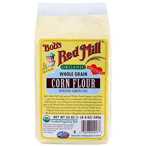 Bobs Red Mill, Flour Corn Organic, 24 Ounce (Organic Corn Flour)