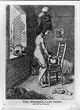 Photo: The whore's last shift,1779,broken chamber pot,poverty-stricken room,prostitute