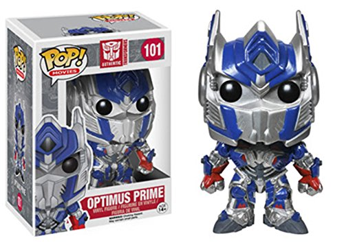 Funko - Figura con Cabeza movil Optimus Prime, Transformers (PDF000039