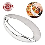 Bibury Pizza Cutter, Super Sharp Pizza Slicer, Stainless Pizza Rocker One-Piece Molding and Easy to Clean, Suitable for Family Party, Festive Dinners, Student Party etc.
