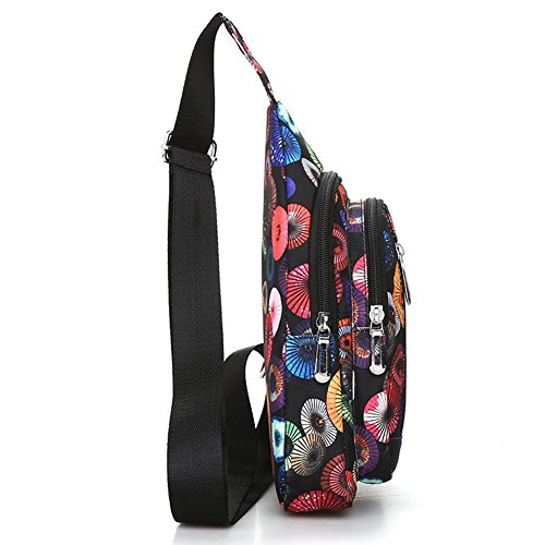 Women Messenger Everpert Handbags Crossbody Sling Bag Shoulder Travel Chest Colorful vr585gq