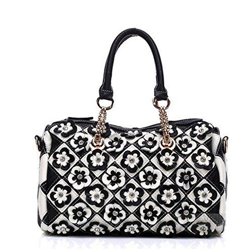 Eysee , Damen Tote-Tasche Schwarz-Weiß
