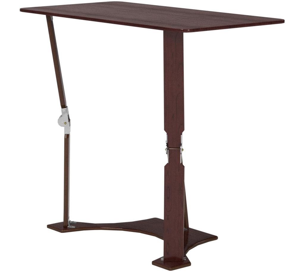 27-Inch Spiderlegs Folding Laptop Desk Tray Table Dark Walnut