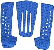 FECAMOS Almofada de prancha de surfe de EVA, à prova de umidade, 3 peças, almofada de cauda de surfe, estrutur