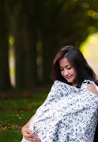 Baby Nursing Cover for Breastfeeding Babies with Privacy Nec