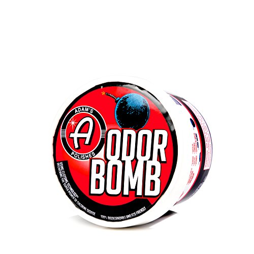 Adams Odor Bomb - Eliminates Severe Odors - Eco-Friendly Vapors Work on All Chemical and Organic Odors