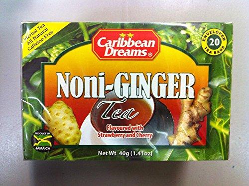 Caribean Dreams Noni-Ginger Tea 20 ()