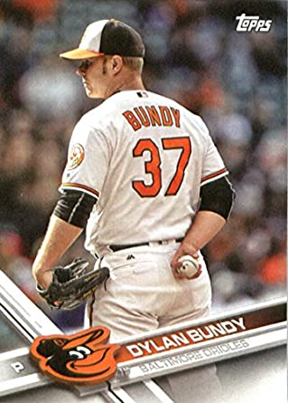 779e73e05 2017 Topps Team Edition Baseball Card BAL-16 Dylan Bundy Baltimore Orioles  Baseball Card