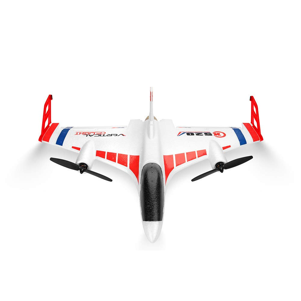 Sentmoon Aerobatics Glider Remote Control Aircraft 2.4G 6CH 3D/6G Airplane Vertical Takeoff Land Delta Wing RC Glider