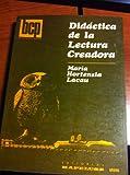 img - for Didactica de la Lectura Creadora book / textbook / text book
