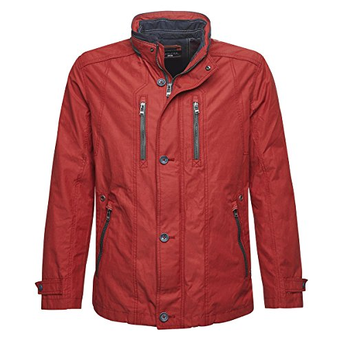 Oversize Oversize Oversize Jupiter Giacca Moda Rosso Rosso Rosso Scuro Casual cqRWYWFng