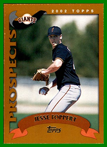 2002 Topps Traded #T212 Jesse Foppert RC SAN FRANCISCO GIANTS ROOKIE