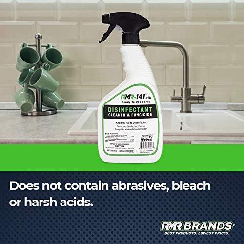 RMR-141 RTU Disinfectant Spray Refill Bundle, Kills 99% of Household Bacteria and Viruses, Fungicide Kills Mold & Mildew, EPA Registered