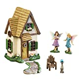 Collections Etc Cottage Fairy Garden Decor - 6 Pc