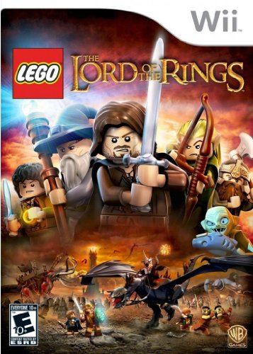 WII LEGO LORD OF THE RINGS (Lego Lord Of The Rings Nintendo Wii)