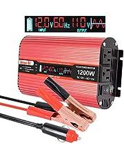 Car Power Inverter, imoli 1200W/2400W(Peak)