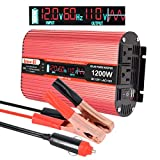Best Power Inverters - Car Power Inverter, imoli 1200W/2400W(Peak) DC 12V to Review