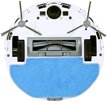DWDADYYY Aspirateur Robot Navigation Carte 3D Aspirateur 2500 Pa Contrôle WiFi Humide et Sec