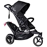 phil&teds DOT V3 Double Stroller - Black