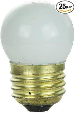 2800-Kelvin 7.5-Watt Philips Night Light S11 Bulb Medium Screw Base White
