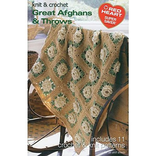 Easy Afghans Knitters - Coats Crochet Coats and Clark Books, Great Afghans and Throws, Super Saver