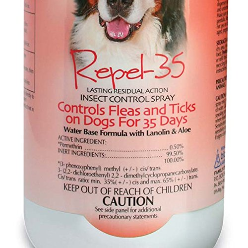 Bio-Groom Repel-35 Insect Control Pet Spray, 32-Ounce