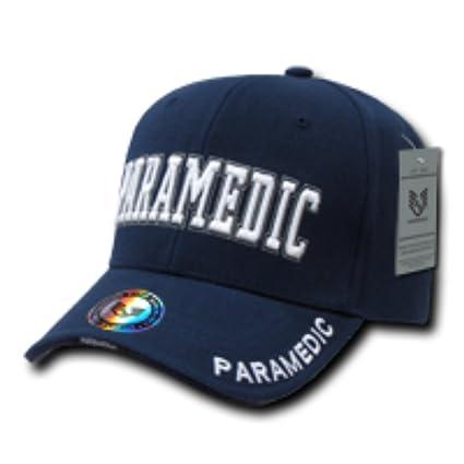 Bordado Aplicación de la ley de paramédico ajustable 100% acrílico – Gorra  de béisbol  26eee7226dc