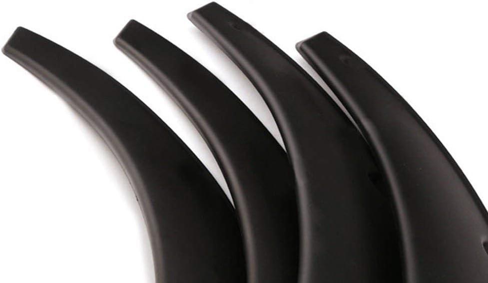 yjracing 4X Universal Fender Flares Auto Car Wide Body Kit Black