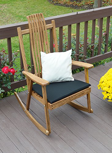 (Aspen Tree Interiors Best Wood Porch Rocking Chair, Bent Stick Rocker Chairs, Beautiful Country Amish Rockers in 2 Finish Choices (Walnut Stain))
