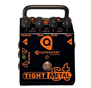Amptweaker TightMetal Distortion Effect Pedal