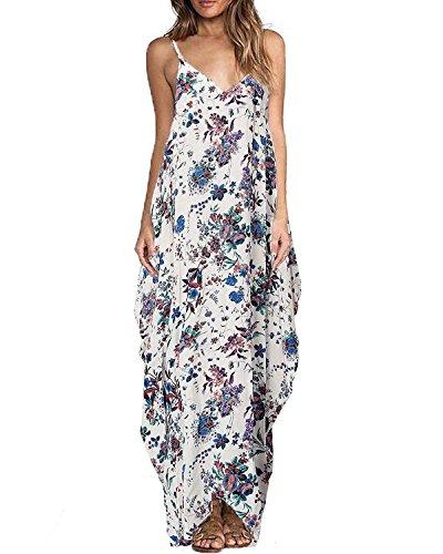 Cotton V-neck Halter Dress - 2
