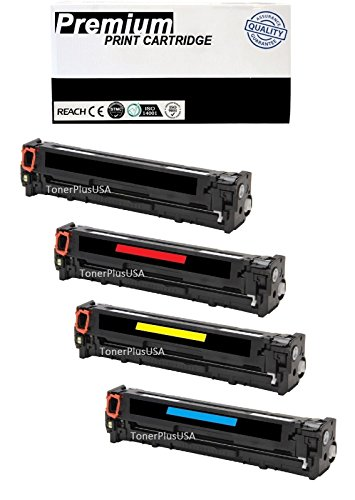 JSL 4 PK CE410X Toner Cartridge For HP Laserjet Pro 400 color M451dn M451nw M451dw