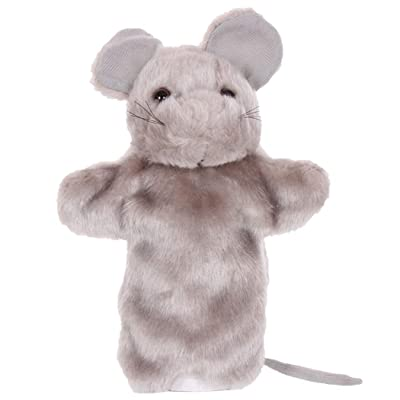 KeepGeek Hand Puppet Creative Lovely Mouse Design Plush Puppet Storytelling Toy for Kids for Game: Everything Else
