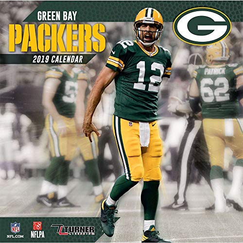2019 Greens Bay Packers Calendar, Green Bay Packers by Turner Licensing … - Green Bay Packers Schedule