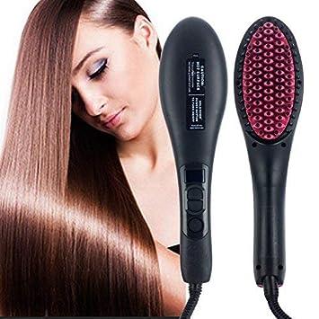 Kriya enterprises Fast Temperature LCD Hair Straightener Brush