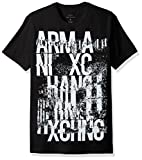 A|X Armani Exchange Men's Graffiti Logo Crew Neck Tee
