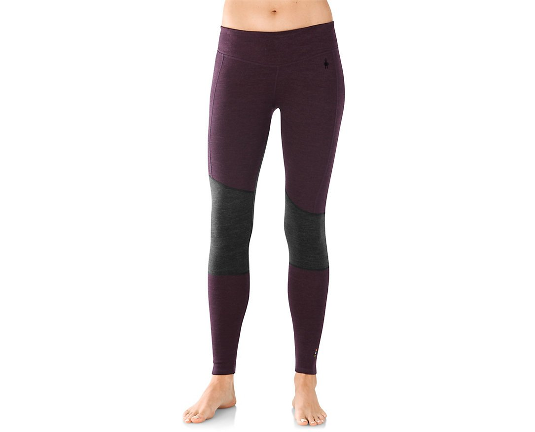 Smartwool Women's Merino 250 Asym Bottom (Bordeaux) Medium
