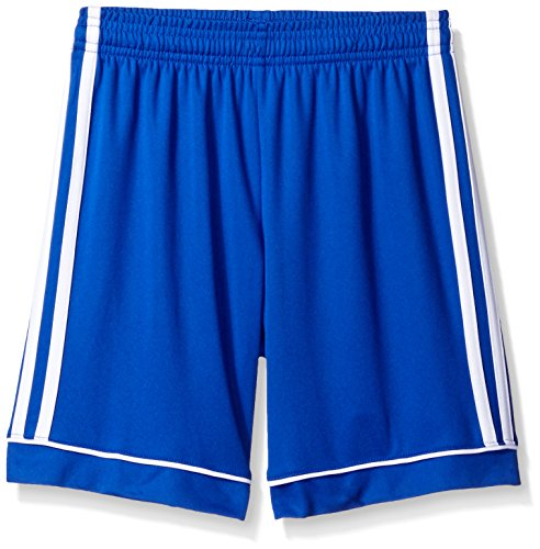 adidas Youth Soccer Squadra 17 Shorts, Bold Blue/White, X-Large -