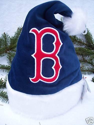 BOSTON RED SOX INFANT STADIUM SANTA HAT 0-6 months -