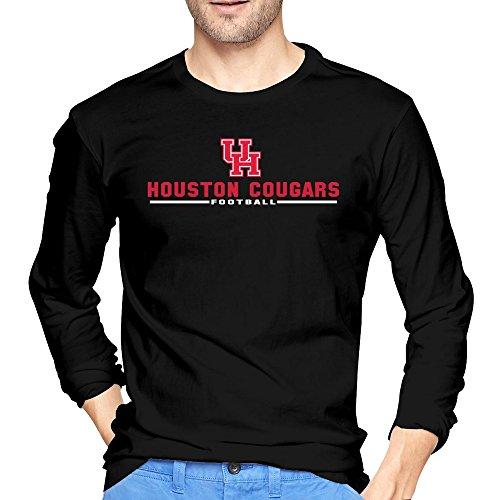 Houston Cougars Wordmark T Shirts Long Sleeve product image
