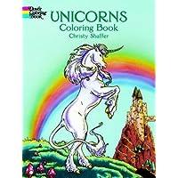 Unicorns Coloring Book (Dover Coloring Books)