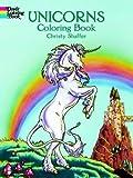 Unicorns Colouring Book (Dover Coloring Books)
