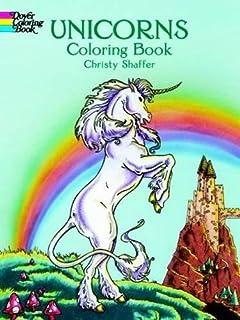 Unicorns Coloring Book Dover Books