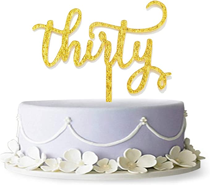 TM Gold Firefairy 70 Years Blessed Acrylic Cake Topper 70th Birthday Anniversary Party Decoration Supplies